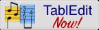Klikbare afbeelding voor Tabledit demo versie waarmee je gitaartabs, mandolinetabs ukeleletabs tot 16 maten kunt schrijven